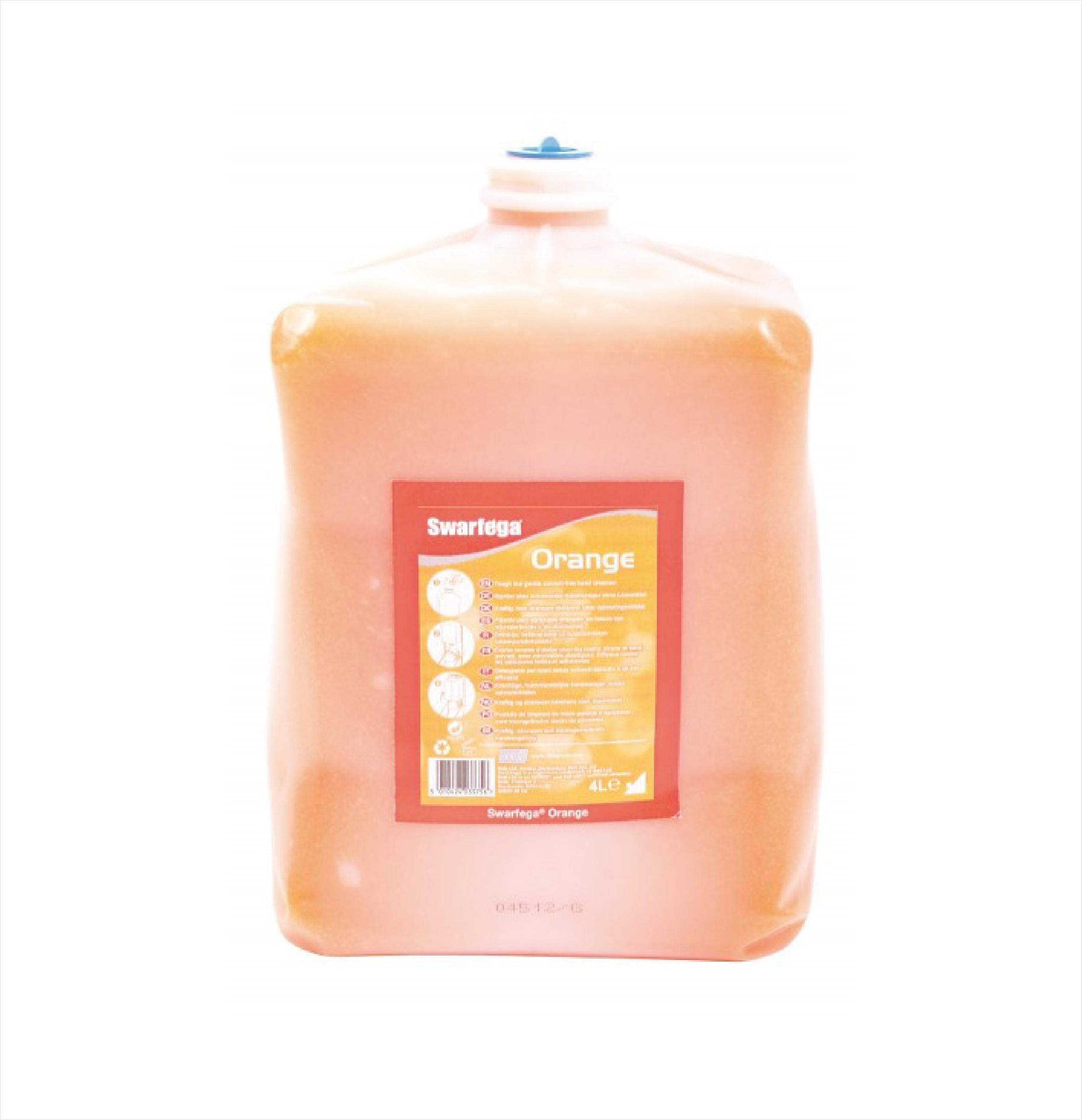 Orange Hand Cleaner DEB 4ltr SHD4LTR