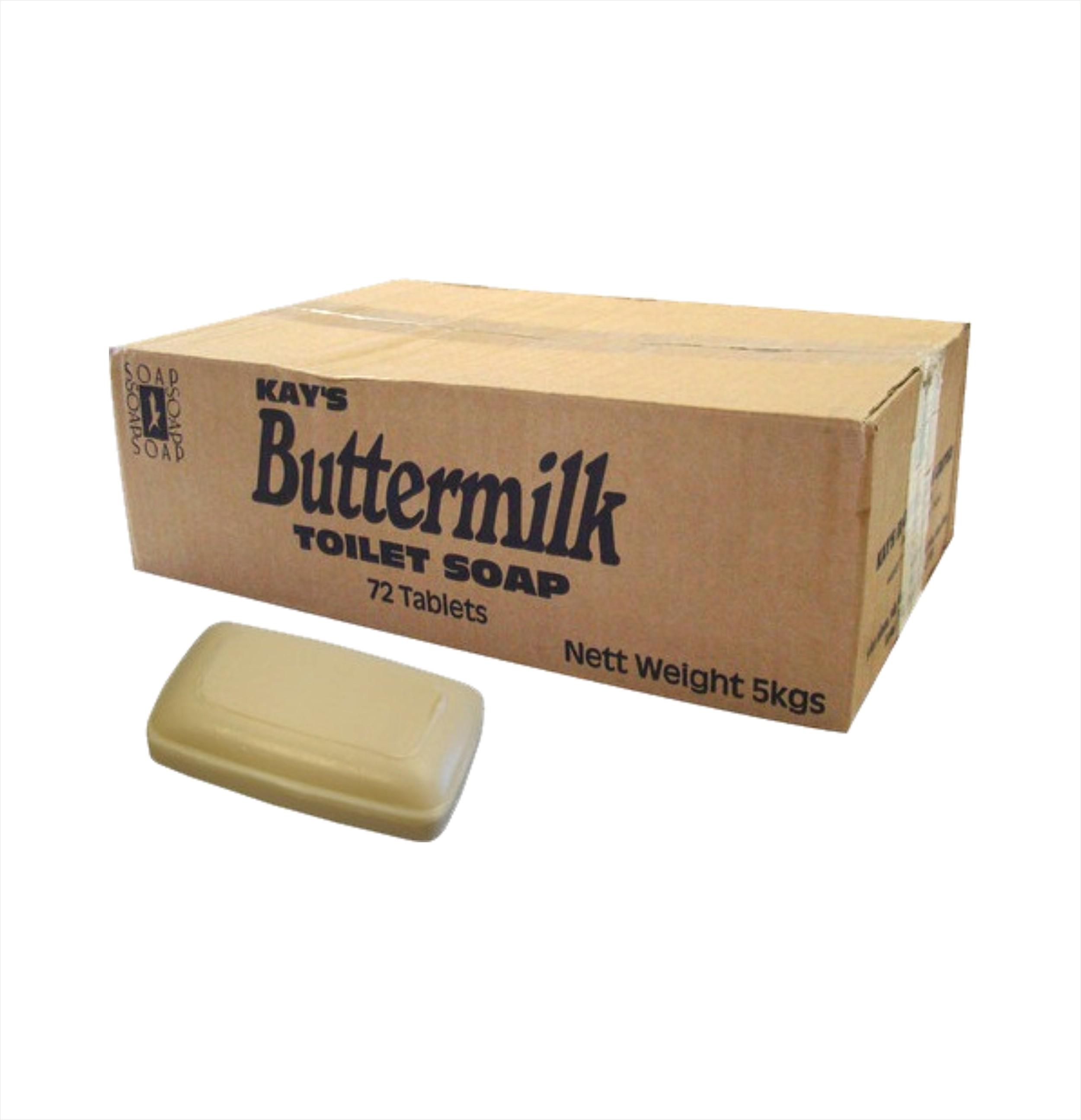 Buttermilk Soap Bars (72 pack)