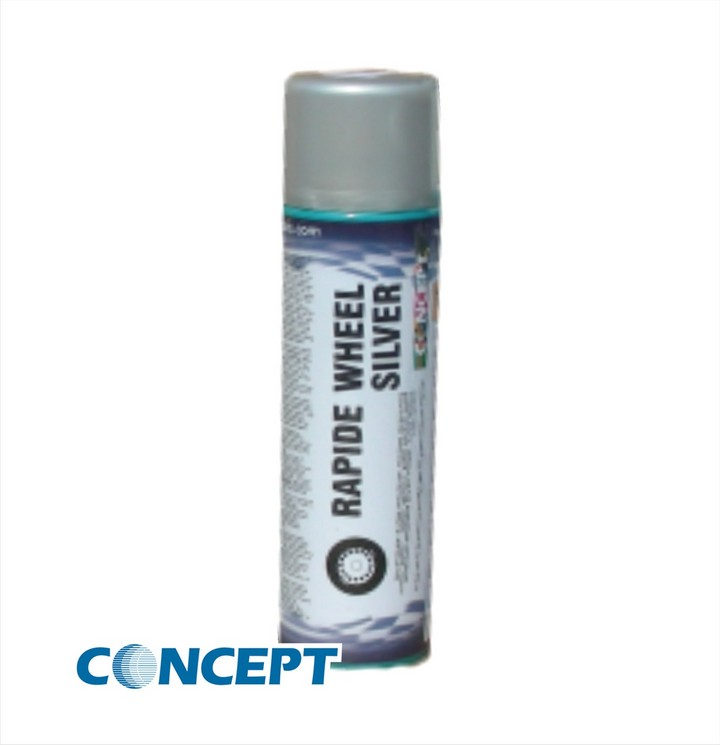 Rapide Wheel Silver Paint (450ml)