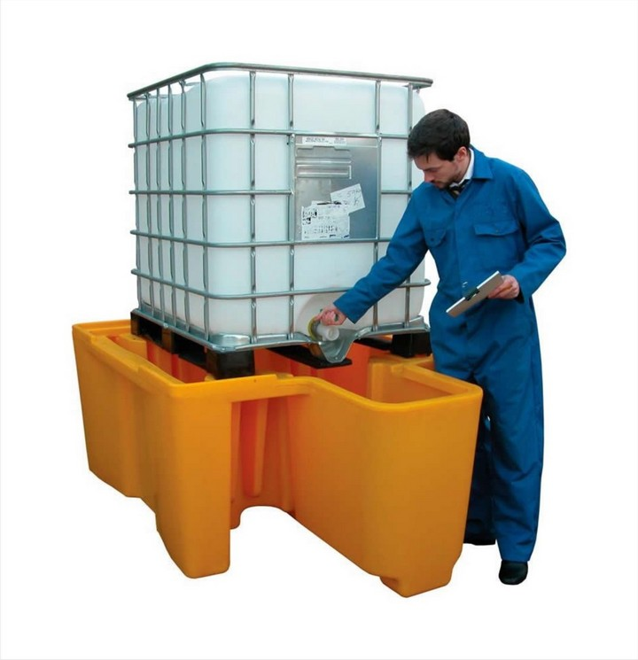 IBC Spill Pallet BBC1D + Integeral dispenser
