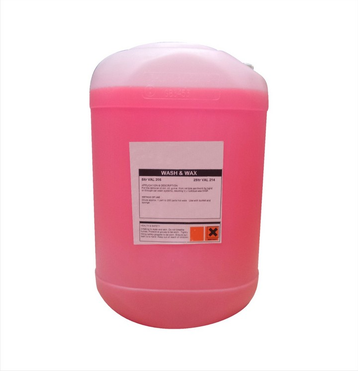 Wash and Wax, Pink (25ltr)
