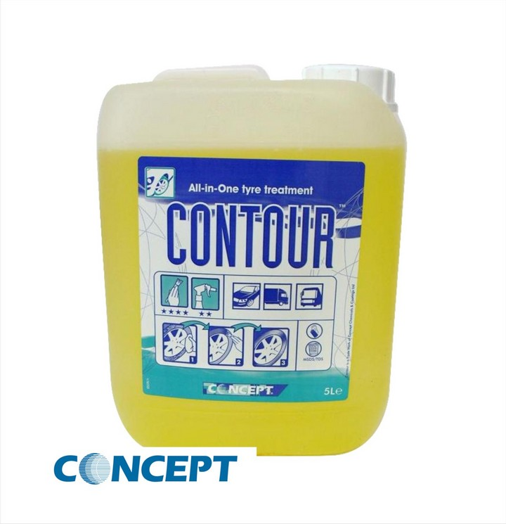 Concept Contour Tyre Treatment (5ltr)